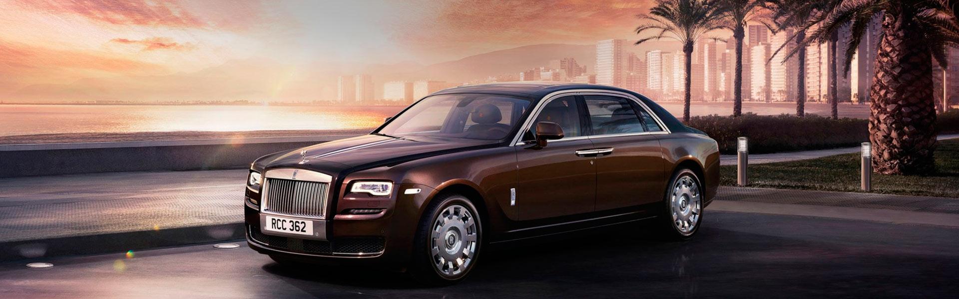 Сервис Rolls-Royce Ghost