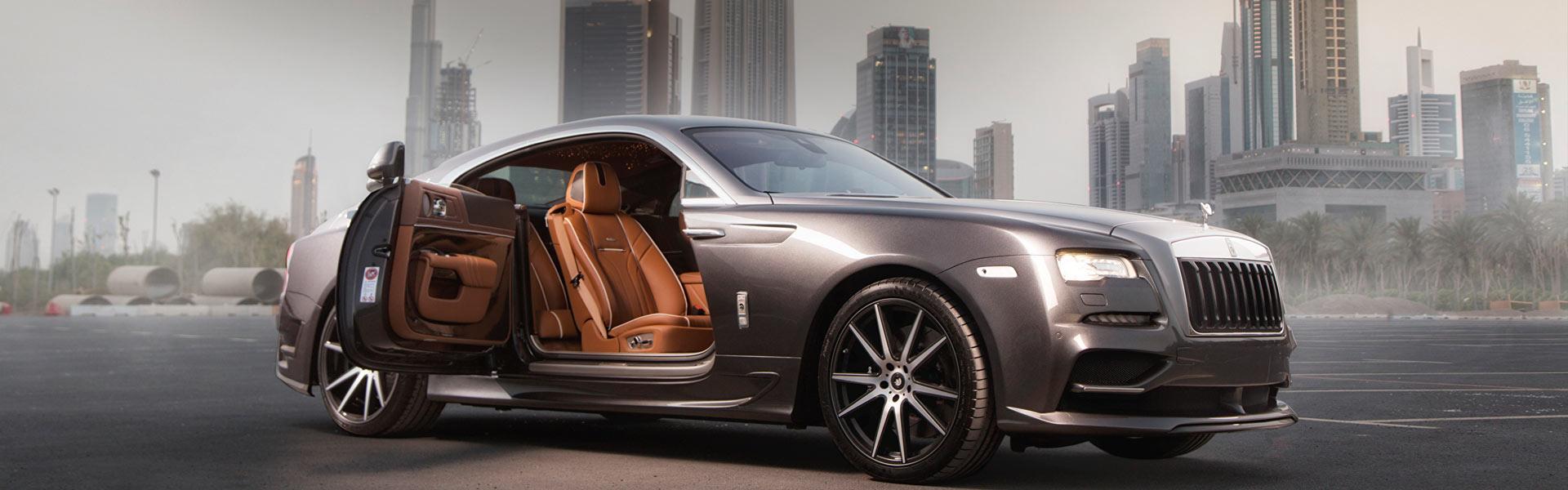 Развал схождение Rolls-Royce